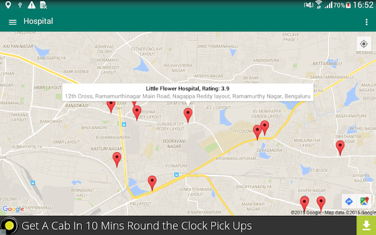 android Around Me - Places (Search) Screenshot 11