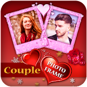 Couple Photo Frame Editor : Lovely Couple Photo