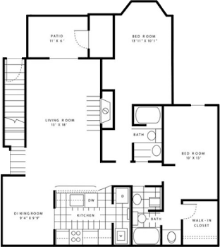 Go to The Morning Dove Designer Floorplan page.