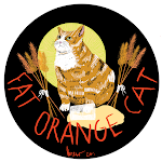 Logo for Fat Orange Cat Brew Co.