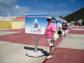 Photo: In St Maarten...wearing a St Maarten Tee!