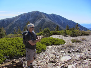 Photo: View south from the summit of Dawson Peak toward Mt. San Antonio, aka Old Baldy