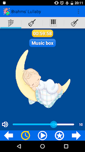 Brahms' Lullaby for babies- screenshot thumbnail