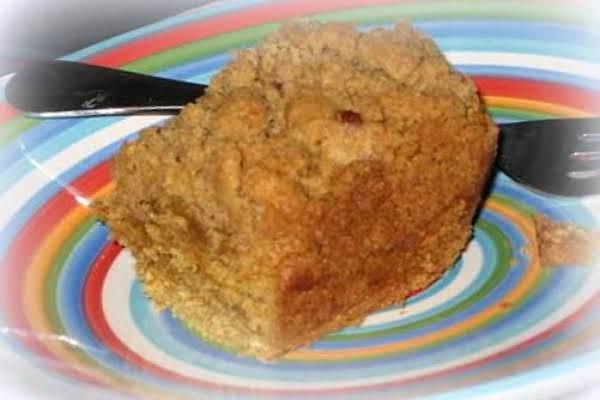 ~ Peanut Butter Crumb Cake ~ Recipe