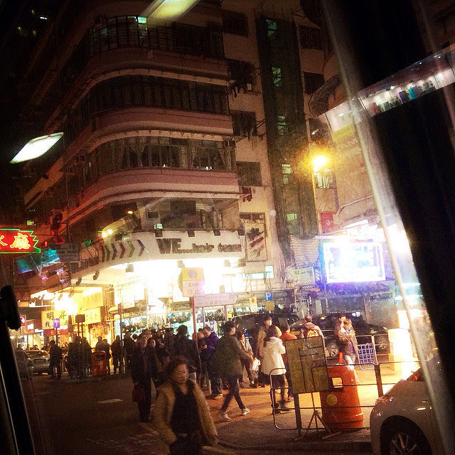 Mong Kok, Night, nightlife, 旺角,夜,街景