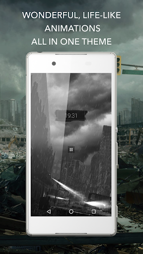 Beautiful Apocalypse for KLWP  screenshots 5