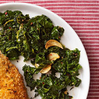 Spicy Wilted Winter Greens