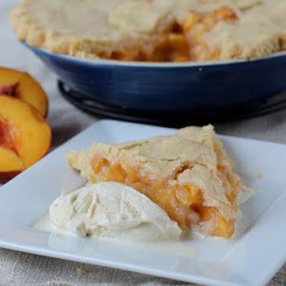 Old-Fashioned Peach Pie