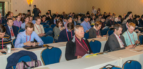 Photo: Audience for first Keynote Presentation; SPIE Medical Imaging 2015