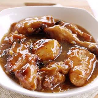 Honey Chicken.