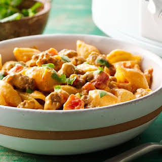 Slow-Cooker Taco Pasta.