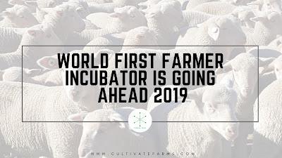 World First Farmer Incubator is Going Ahead 2019