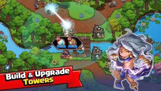 Crazy Defense Heroes MOD (Unlimited Money) 2