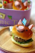 Photo: Piggy burger