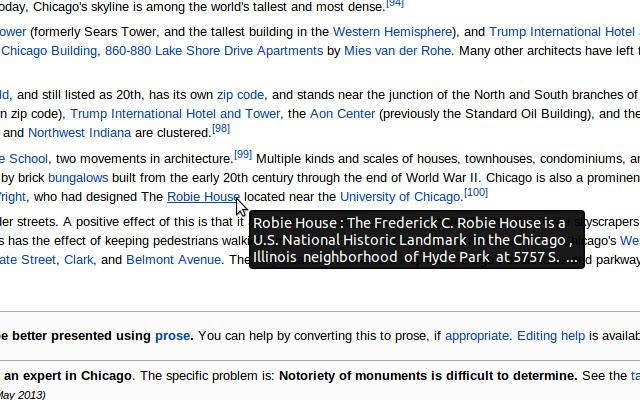 Wikipedia Plus