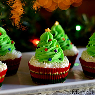 Cranberry Bliss Cupcakes.