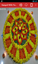 Rangoli With Flowers - screenshot thumbnail 03
