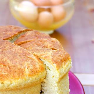 Pizza di Pasqua al Formaggio (Easter Cheese Bread).