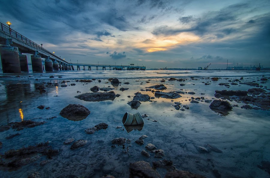 Cloudy skies by Hirzi Hussain - Landscapes Sunsets & Sunrises