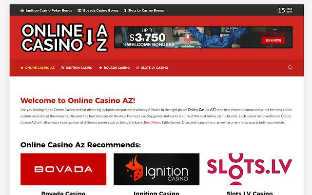 OnlineCasinoAZ - Best real money Casinos