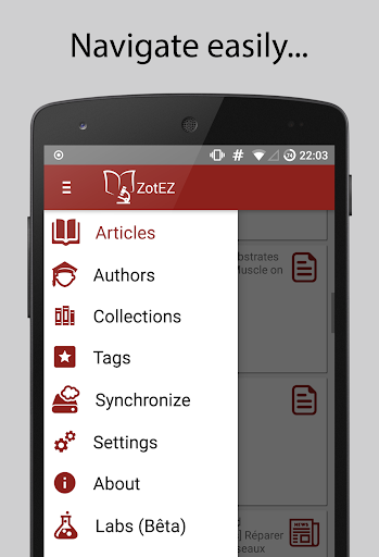ZotEZ. Your Zotero reader. Everywhere screenshot 2