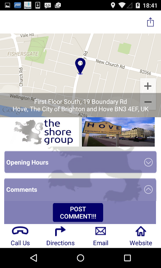The Shore Group- screenshot
