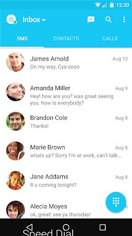Messages + SMS Screenshot
