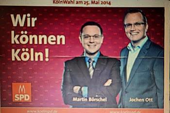 SPD-Wahlplakat.