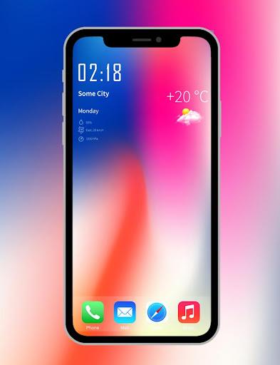 Iphone X Wallpapers 4k Hd Launcher Apk Download Apkpure Co
