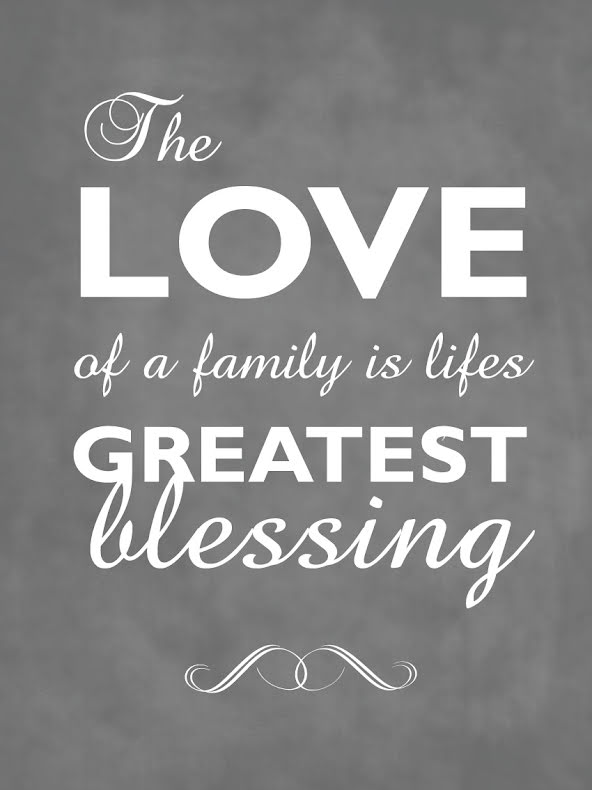THE LOVE OF A FAMILY