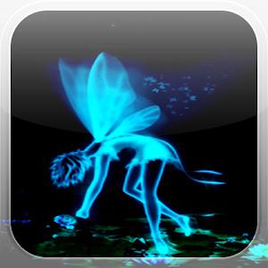 Blue Magic Fairy L Wallpaper