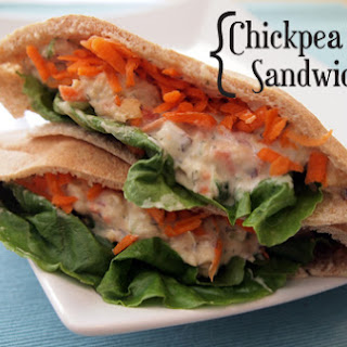Chickpea Salad Sandwiches
