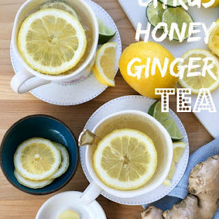 Citrus Honey Ginger Tea