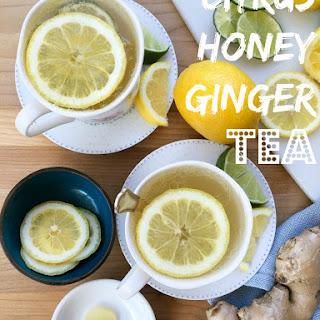 Citrus Honey Ginger Tea Recipe