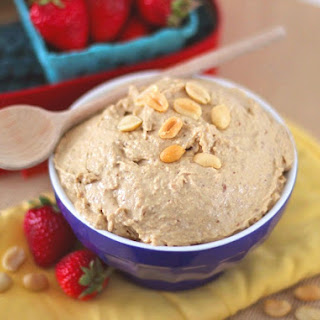 Healthy Peanut Butter Cookie Dough Dip [sugar free, gluten free and eggless]
