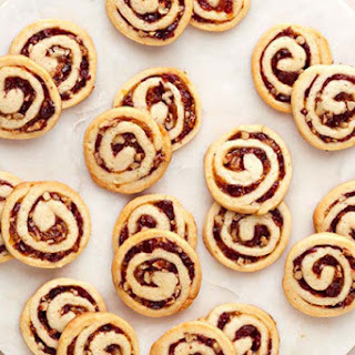 Cranberry-Cream Cheese Pinwheel Cookies