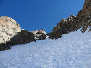 Photo: montée du couloir