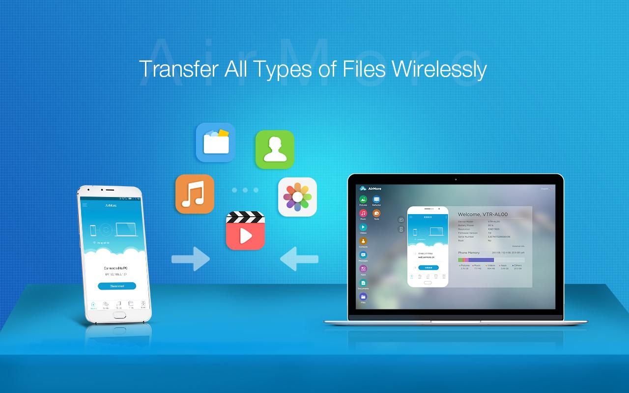 AirMore: File Transfer- screenshot