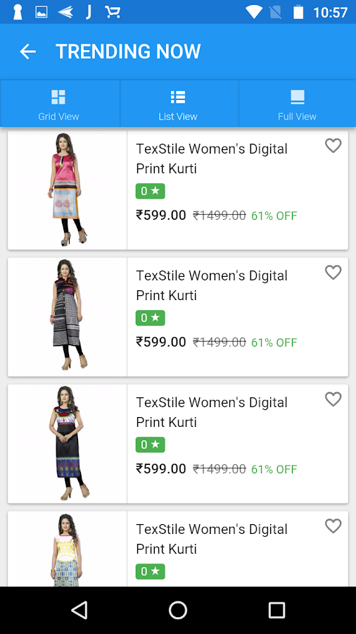 TexStile : Online Shopping App- screenshot