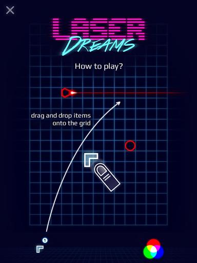 Laser Dreams - Brain Puzzle screenshot 9
