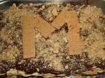 Mom's Ice Box Cake With Graham Crackers