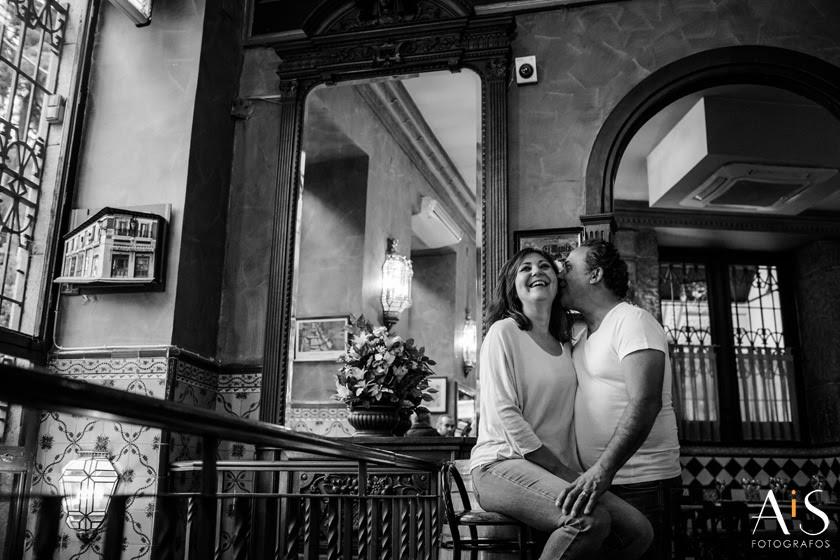 Reportaje de pareja en Madrid