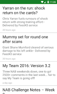 DTTalk News Feed- screenshot thumbnail