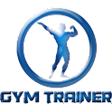 GYM Trainer fit bodybuilding icon