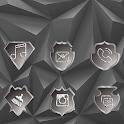 Gray Polyhedron icon