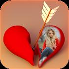 Broken Heart Photo Frames icon