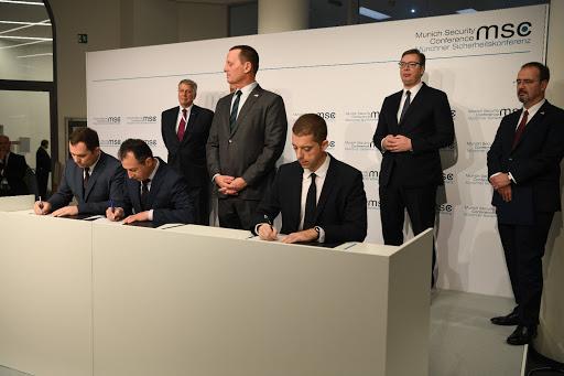 Serbia and Kosovo Sign Agreements on Rail Link, Belgrade-Pristina Highway