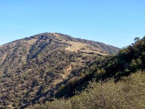 Photo: View east from Glendora Ridge Motorway toward Glendora Peak (2596')