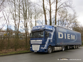 Photo: Ein DIEM DAF....  Click for more photos: www.truck-pics.eu or join me on Facebook: claus wiesel