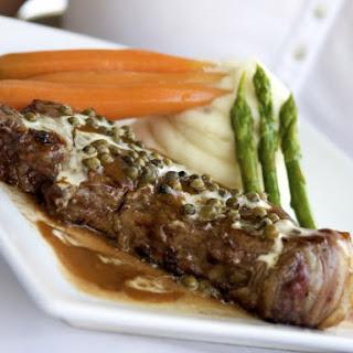 Steak au Poivre Green